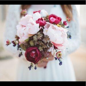 Silk Floral Bouquet